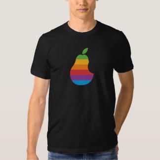 Peardatorer - Retro T-tröja för Apple Tröjor