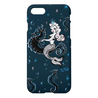 Pearla sjöjungfru på Seahorseiphone case iPhone 7 Skal