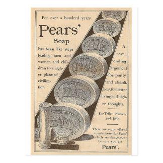 Pearss tvål vykort