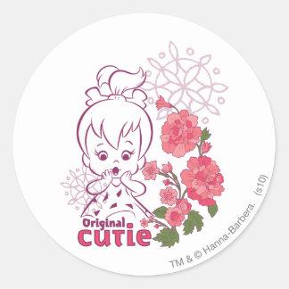 PEBBLES™-original Cutie Runt Klistermärke