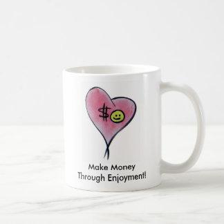 PebbleStorm hjärta, gör pengar till och med Kaffemugg