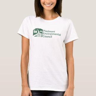Pec-T-tröja - kvinnor - grön logotyp Tshirts