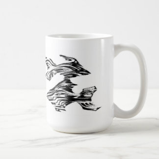 Peces fisk kaffemugg