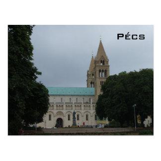 Pecs - domkyrka vykort