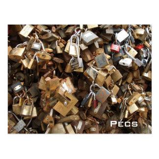 Pecs - Lovelocks Vykort