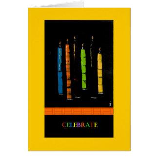 PedagogyGreetings kort: Stearinljus Hälsningskort