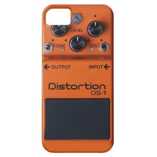 Pedal för distorsion för klassikersten orange iPhone 5 fodral