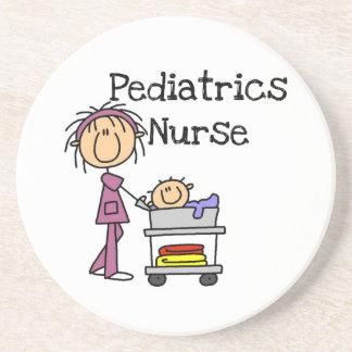 PediatriksjuksköterskaTshirts och gåvor Underlägg Sandsten