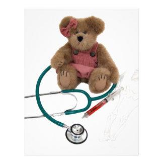Pediatrisk omsorg brevhuvud
