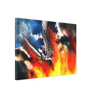 Pegasus design canvastryck