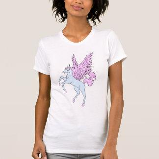 Pegasus för vintage för Corey tiger80-tal Unicorn Tee