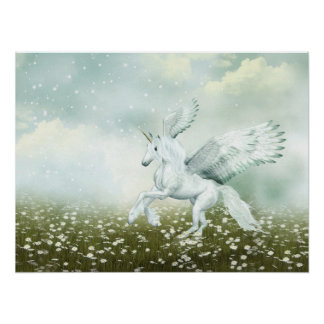 Pegasus i daisy poster