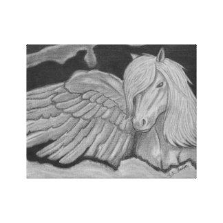 Pegasus kanvastryck