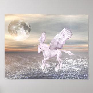 Pegasus-Unicorn hybrid- affisch