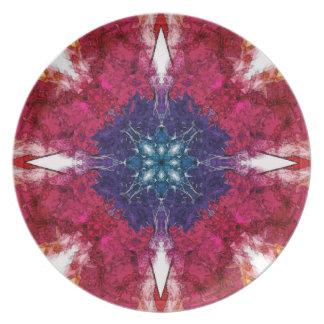 Pekar av symmetri tallrik