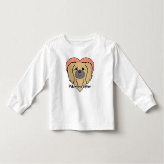 Pekingese älskare tee shirt