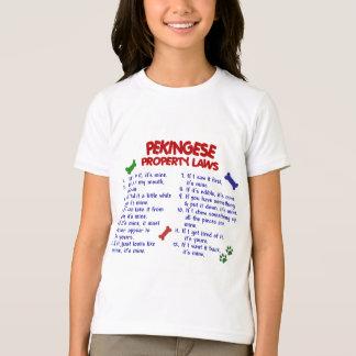 PEKINGESE-egendomlagar 2 T-shirts