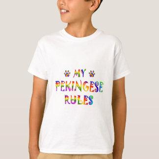 Pekingese härskar roligt t-shirt
