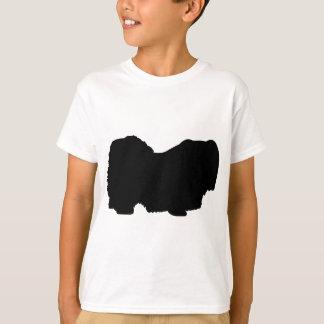 Pekingese hund tee shirts