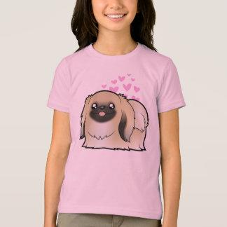 Pekingese kärlek (den klippta showen) t shirts