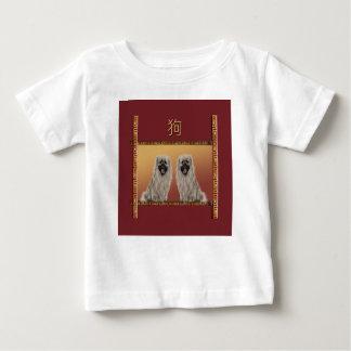 Pekingese på det kinesiska nya året för asiatisk t-shirt