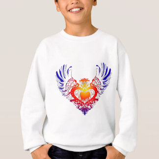 Pekingese påskyndade hjärta tshirts
