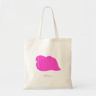 Pekingese toto (den rosa silhouetten) kasse