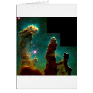 Pelare av skapelsen - det Hubble utrymmeteleskop Hälsningskort