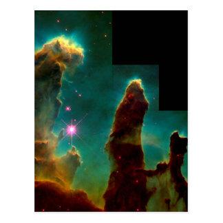 Pelare av skapelsen - det Hubble utrymmeteleskop Vykort