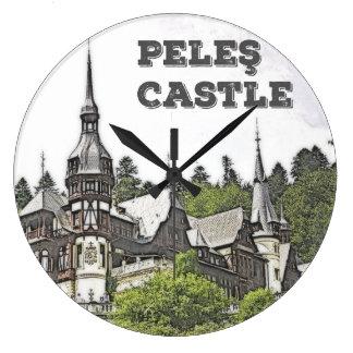 Peles slott stor klocka