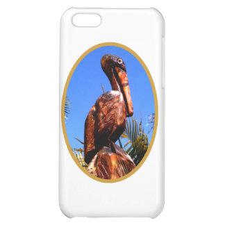 Pelikantränolla-guld de MUSEUMZazzle gåvorna iPhone 5C Mobil Fodral