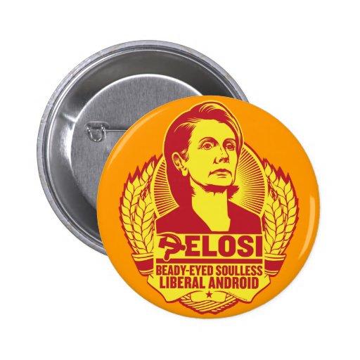 Pelosi knäppas knappar med nål