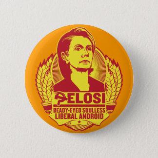 Pelosi knäppas standard knapp rund 5.7 cm