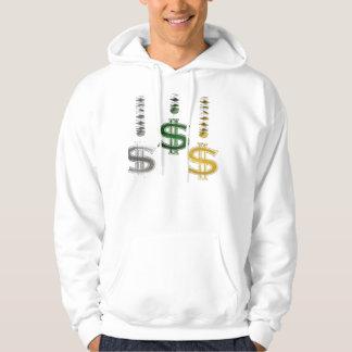 pengar 2 sweatshirt med luva