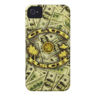 Pengar för KLUBB R$CH iPhone 4 Case-Mate Fodral