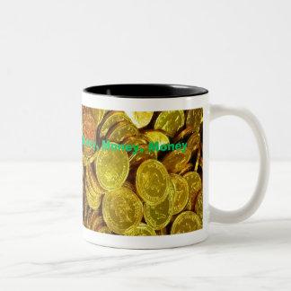 """""""Pengar"""" kaffemugg av Zoltan Buday"""