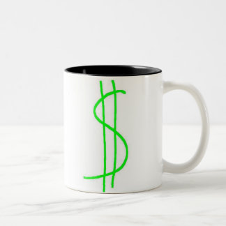 Pengar Två-Tonad Mugg