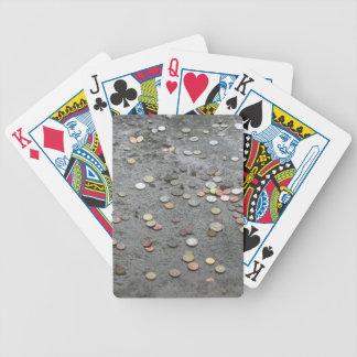 Pengarkort Spelkort