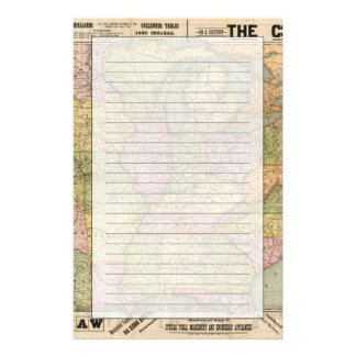 Pennsylvania 6 brevpapper