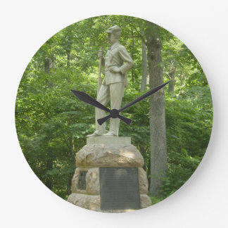 Pennsylvania Bucktails Gettysburg tar tid på Stor Klocka