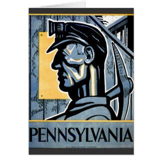 Pennsylvania! Hälsningskort