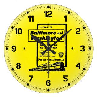 Pennsylvania järnväg till Baltimore och Washington Stor Klocka
