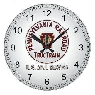 Pennsylvania järnvägTrucTrain tar tid på den Stor Klocka