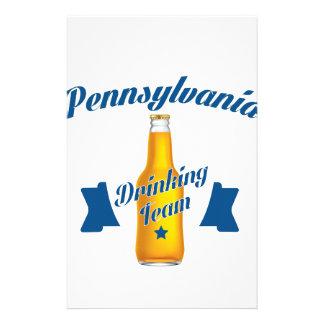 Pennsylvania som dricker laget brevpapper