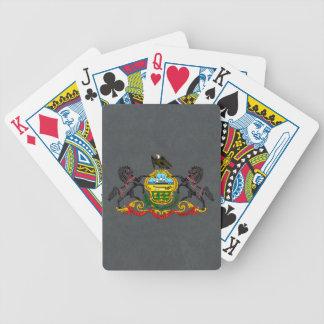Pennsylvania vapensköld spelkort
