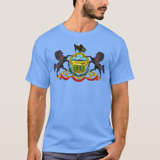 Pennsylvania vapensköldT-tröja Tee Shirts