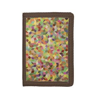 Penrose som belägger med tegel plånboken