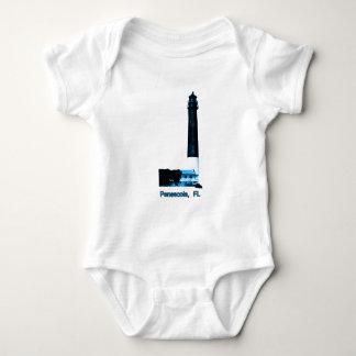 Pensacola FL fyrblått den MUSEUMZazzle Gifen T Shirts