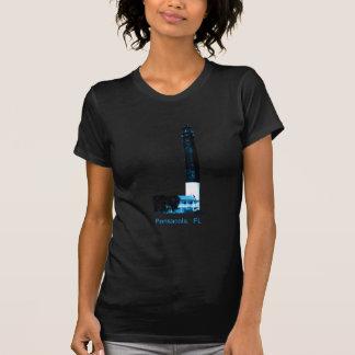 Pensacola FL fyrblått den MUSEUMZazzle Gifen T-shirts