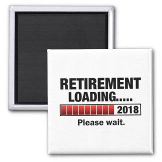Pension 2018 som laddar magnet